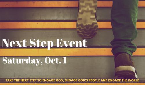 Next Step Event Registration
